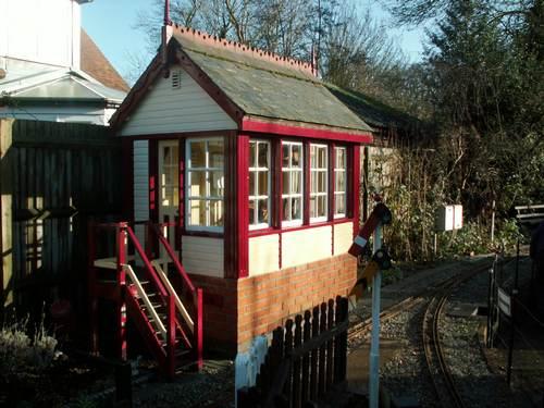 Middleton Garden Railway Signal Box